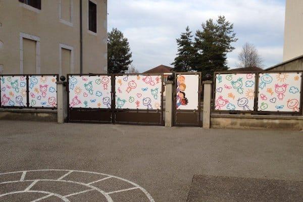 Portail école de Poisy
